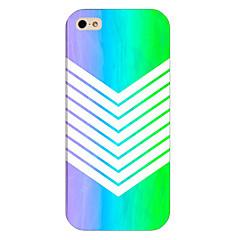 teléfono patrón de línea rota hacia atrás la cubierta del caso para iphone5c