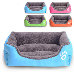 cheap Dog Supplies & Grooming-Cat Dog Bed Pet Mats & Pads Solid Waterproof Cute Orange Rose Green Blue For Pets