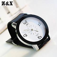 abordables Novedades-Mujer Reloj de Moda Cuarzo Reloj Casual PU Banda Analógico Elegante Negro - Blanco Negro Un año Vida de la Batería / SSUO 377