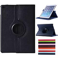 abordables Carcasas y Fundas para iPad Air-SHI CHENG DA Funda Para Apple con Soporte / Activado / Apagado Automático / Rotación 360º Funda de Cuerpo Entero Un Color Cuero de PU para iPad Air