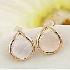 tanie Kolczyki-Kolczyki na sztyft Kryształ Modny Europejski Perłowy Imitacja pereł Kryształ górski Pozłacane Austria Crystal 18K złoty sztuczna Diament