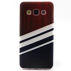 tanie Galaxy A3 Etui / Pokrowce-Na Samsung Galaxy Etui Etui Pokrowce Wzór Etui na tył Kılıf Geometryczny wzór Poliuretan termoplastyczny na Samsung A5 A3