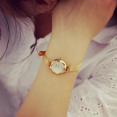 お買い得  大特価腕時計-女性用 ブレスレットウォッチ クォーツ 30 m カジュアルウォッチ PU バンド ハンズ ヴィンテージ ファッション ゴールド - ゴールデン