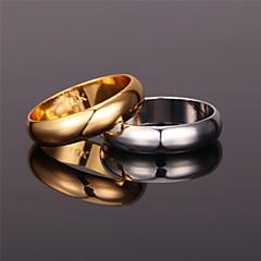 preiswerte Ringe-Damen Bandring Ring - Platiert, vergoldet, Aleación Retro, Party, Büro Gold / Silber Für Party Jahrestag Geburtstag