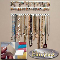 billige Opbevaring til smykker og makeup-Plast Multifunktion Hjem Organisation, 1set Smykkeopbevaring