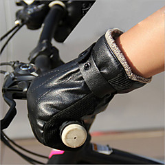 billige -BOODUN/SIDEBIKE® Aktivitets- / Sportshandsker Cykelhandsker Fugtpermeabilitet Åndbart Reducerer gnavesår Stødsikker Fuld Finger Læder