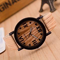 abordables Piel-Hombre Reloj de Pulsera Cuarzo Piel Banda Caqui # 2 # 3 # 4 # 5 # 6