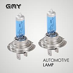 Недорогие Автомобильные фары-2шт gmy H7 Галогенные свет автомобиля синий серии 12v 55w базовые P × 26d 400hrs