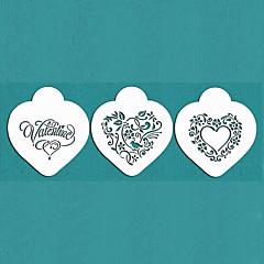 voordelige Bakgerei & Gadgets-valentine's geschenk worden mijn hart koekje stencil ingesteld voor cake versieren, st-670