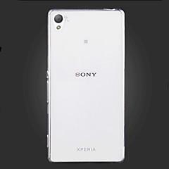 olcso -Mert Sony tok / Xperia Z5 / Xperia Z3 Ultra-vékeny / Átlátszó Case Hátlap Case Egyszínű Puha TPU mert SonySony Xperia Z5 / Sony Xperia Z3