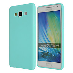 Χαμηλού Κόστους Galaxy A7 Θήκες / Καλύμματα-tok Για Samsung Galaxy Samsung Galaxy Θήκη Εξαιρετικά λεπτή Πίσω Κάλυμμα Συμπαγές Χρώμα TPU για A8 A7 A5