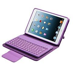 caja de cuero de la PU con el teclado para aire ipad 2 (colores surtidos)