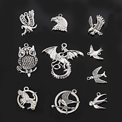 beadia fém bagoly&galamb&lenyelni varázsa medálok antik ezüst DIY ékszer kiegészítők