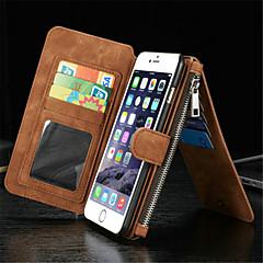 Назначение iPhone 8 iPhone 8 Plus iPhone 7 iPhone 7 Plus iPhone 6 iPhone 6 Plus Кейс для iPhone 5 Чехлы панели Кошелек Бумажник для карт