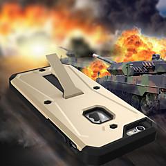 Недорогие Кейсы для iPhone 6 Plus-Кейс для Назначение Apple iPhone 8 iPhone 8 Plus iPhone 6 iPhone 6 Plus Защита от влаги Защита от пыли Защита от удара со стендом Кейс на