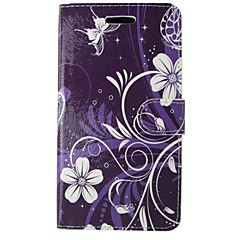 cheap Sizzling Savings-Case For Apple iPhone 5 Case Card Holder Wallet with Stand Flip Full Body Cases Flower Lace Printing Hard PU Leather for iPhone SE/5s