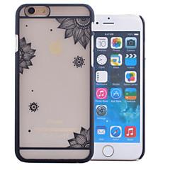abordables Fundas para iPhone 6s-Funda Para Apple iPhone 6 Carcasas de Cuerpo Completo Un Color Dura Cuero de PU para Apple