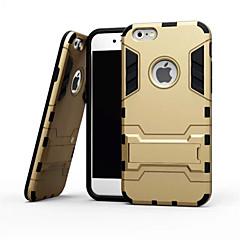 Назначение iPhone X iPhone 8 iPhone 6 iPhone 6 Plus Чехлы панели Защита от удара со стендом Задняя крышка Кейс для броня Мягкий