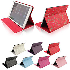 cheap Cases/Covers for iPad Air-Case For iPad Air with Stand Pattern Full Body Cases Lines / Waves PU Leather for iPad Air