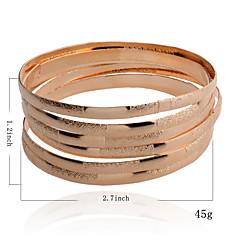 preiswerte Armbänder-Damen Armreife - damas Armbänder Schmuck Silber / Golden Für Party Alltag Normal