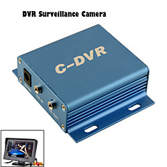 abordables Cámaras para Retrovisor de Coche-Cámara de visión trasera - 648 x 488 - 420 Líneas TV - 120° - con CMOS PC1030 de 1/4 Pulgadas