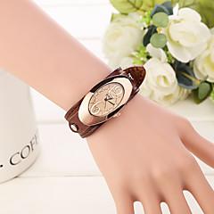 お買い得  大特価腕時計-女性用 ファッションウォッチ クォーツ ハンズ エレガント - ワイン ライトブラウン ダークブラウン 2年 電池寿命 / ステンレス