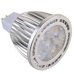 GU5.3(MR16) LED-spotlys MR16 5 leds SMD Dekorativ Varm hvid Kold hvid 630lm 2800-3200/6000-6500K Vekselstrøm 85-265 Vekselstrøm 12V