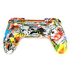 abordables Fundas PS4-Partes de reemplazo del controlador del juego Para Sony PS4 ,  Partes de reemplazo del controlador del juego ABS 1 pcs unidad