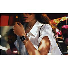 Χαμηλού Κόστους Μπρασελέ για ρολόγια Apple-Παρακολουθήστε Band για Apple Watch Series 3 / 2 / 1 Apple Κλασικό Κούμπωμα Γνήσιο δέρμα Λουράκι Καρπού