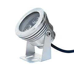 Jiawen 3x1w 3 LED'li 300 lm 6500 / 3200k beyaz / sıcak beyaz ışık sualtı ışıkları (dc 12v)