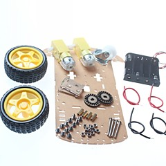 お買い得  ロボット&アクセサリー-DIYのロボットカーのシャーシ/スマートカーシャーシ