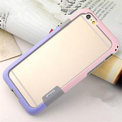 Na iPhone 8 iPhone 8 Plus iPhone 6 iPhone 6 Plus Etui Pokrowce Odporne na wstrząsy Przezroczyste Bumper Kılıf Solid Color Miękkie