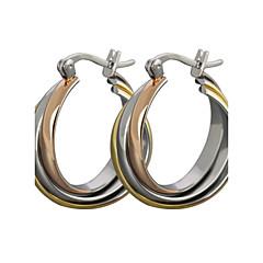 Dames Oorknopjes Ring oorbellen Klassiek Kostuum juwelen Titanium Staal Sieraden Voor