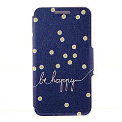 Недорогие Чехлы и кейсы для Galaxy Note 3-Кейс для Назначение SSamsung Galaxy Samsung Galaxy Note Бумажник для карт Кошелек со стендом Флип Чехол Цветы Кожа PU для Note 5 Edge