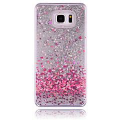 Για Samsung Galaxy Note Ρέον υγρό tok Πίσω Κάλυμμα tok Λάμψη γκλίτερ PC Samsung Note 5
