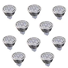 お買い得  LED 電球-ywxlight®10個入りGU5.3(MR16)6ワット4 *穂軸540lm暖かい/クールホワイト交流85から265のAC / DC 12V