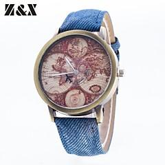 preiswerte Tolle Angebote auf Uhren-Herrn Modeuhr Quartz Nylon Band Analog Schwarz / Weiß / Blau - Rot Grün Blau