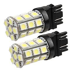 Недорогие Освещение салона авто-T20 Автомобиль Лампы W SMD 5050 lm 27 Светодиодная лампа Внешние осветительные приборы ForУниверсальный