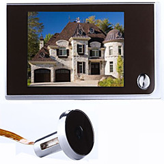 Draadloos Gefotografeerd 3.5 Handsfree 2.0 mega pixel camera resolution One to One video deurintercom