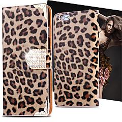 Недорогие Кейсы для iPhone X-Кейс для Назначение Apple iPhone X iPhone 8 iPhone 8 Plus iPhone 6 iPhone 6 Plus Бумажник для карт Кошелек Стразы со стендом Флип Чехол