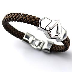 Sieraden geinspireerd door Assassin's Creed Connor Anime/ Computer Games Cosplay Accessoires Armbanden Zilver Legering Mannelijk