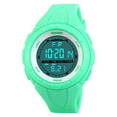 preiswerte Damenuhren-Damen Sportuhr Alarm / Kalender / Chronograph PU Band Modisch / Elegant Schwarz / Blau / Grün / Wasserdicht / Zwei jahr / Maxell CR2025