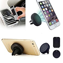 ZIQIAO Universal Magnetic Support Cell Phone Car Holder Stand Mount For iPhone 5 6 Samsung Smart Phone GPS