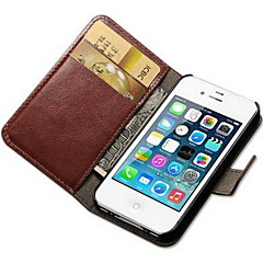 tanie -Na iPhone 8 iPhone 8 Plus iPhone 7 iPhone 7 Plus iPhone 6 iPhone 6 Plus Etui iPhone 5 Etui Pokrowce Portfel Etui na karty Z podpórką Flip