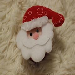 abordables Decoraciones-tridimensional aplaudido muñeco de nieve de santa festival de navidad pulsera círculo pat