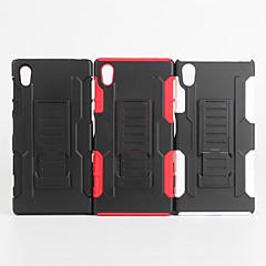 Для Кейс для Sony / Xperia Z5 Защита от удара Кейс для Задняя крышка Кейс для Армированный Твердый PC для Sony Sony Xperia Z5