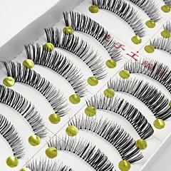 睫毛 フルタイプつけまつげ まつ毛 クロスタイプ ナチュラルロング 目尻ロング 延長 持ち上げ 濃密 ナチュラル 手作り 繊維