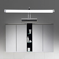 abordables Tiras de Luces LED-Moderno/Contemporáneo Lámparas de pared Iluminación de baño Para Metal Luz de pared IP54 90-240V