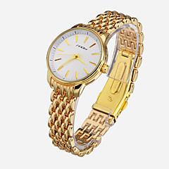 お買い得  メンズ腕時計-SINOBI 女性用 リストウォッチ クォーツ 30 m 耐水 ローズゴールドめっき 合金 バンド ハンズ ファッション エレガント ゴールド - ゴールデン 2年 電池寿命 / Sony SR626SW
