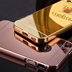 роскошный позолоченный металлический каркас добавляет прозрачный акриловый чехол телефон чехла для iPhone 5с (ассорти цветов)